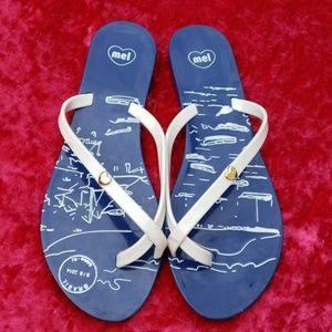 Mel by Melissa flip flops - like new